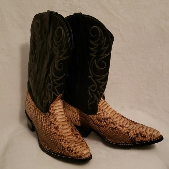 251757d47bc Mens Python Boots Size 14D
